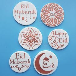 Artistic Eid Cookies