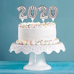 Confetti Pop New Year Cake