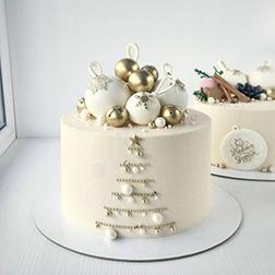 Shimmering Holidays Cake