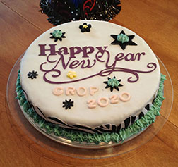 New Year Wishes Cake