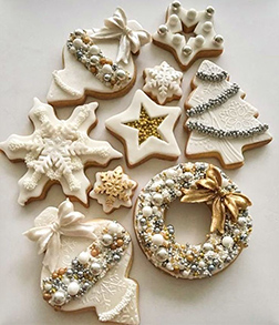 Winter Wonder New Year Cookies