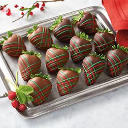 Classic Christmas Dipped Dozen Strawberries