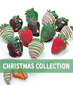 Fairy Lights Dipped Strawberries