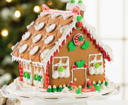 Home For Christmas Gingerbread House