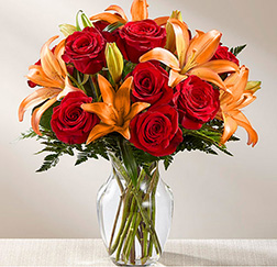 Passionate Fall Bouquet