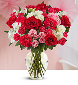 Blushing Romance Bouquet