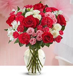 Blushing Romance Bouquet