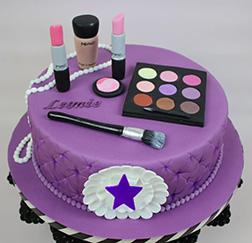 A Girl's Best Friend Cake