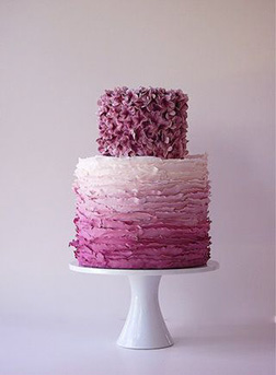 Pretty In Pink Ombre Cake