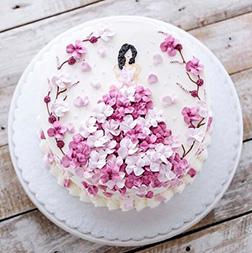 Blossom Princess Cake