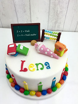 Back to School Surprise Cake