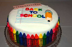 Crazy for Crayons Cake