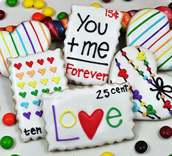 Quirky Love Cookies