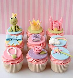 Fairy-tale Princess Dozen Cupcakes