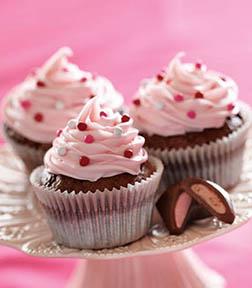 Deliciously Pink Dozen Cupcakes
