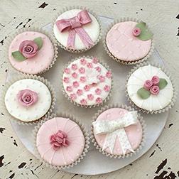 Rose Surprises Dozen Cupcakes