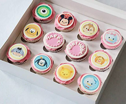 Mickey Mouse Club Assorted Cupcakes