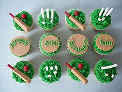 Cricketer Dozen Cupcakes