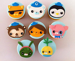 Octonauts Friends Dozen Cupcakes