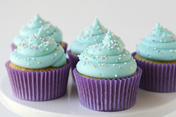 Beautiful in Blue Dozen Cupcakes