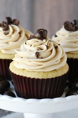 Mocha Whisper Dozen Cupcakes