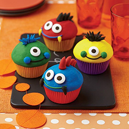 Monster Magic cupcakes