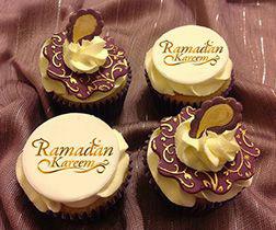 Ramadan Greetings Cupcakes