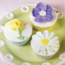 Wild Bouquet Cupcakes