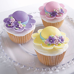 Fancy Bonnets Cupcakes