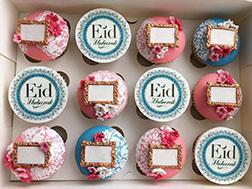Blooming Joy  Dozen Eid Cupcakes
