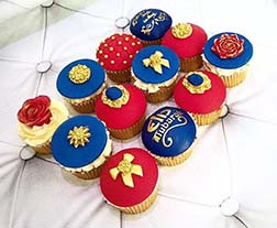 Arabian Nights Dozen Eid Cupcakes