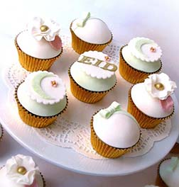 Eid Treats Dozen Cupcakes