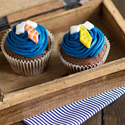 Neat Tie Father's Day Cupcakes