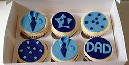 Executive Dad Cupcakes