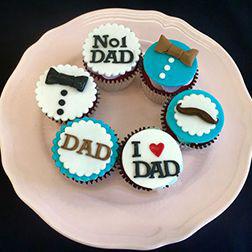 No. 1 Dad Cupcakes