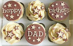 All Star Father's Day Dozen Cupcakes