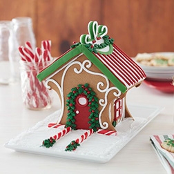 Candy Cane Lane Gingerbread House
