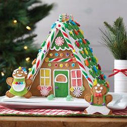 Gingerbread Family Home