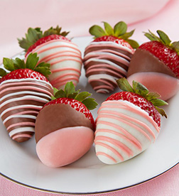 Pink Sensation Dipped Strawberries