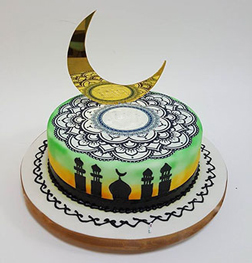 Sunsets Ramadan Cake