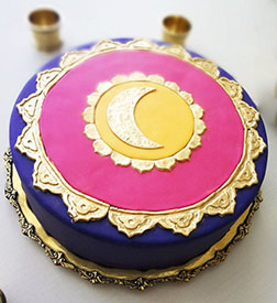 Golden Month Ramadan Cake