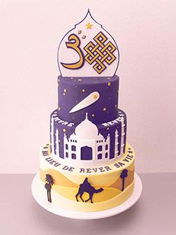 Mystical Ramadan Cake