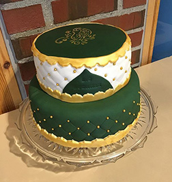 Quilted Ramadan Cake