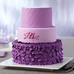 Radiant Frills Cake
