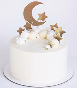 Up In The Clouds Eid Cake