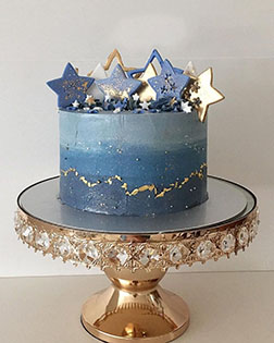 Starry Nights Eid Cake
