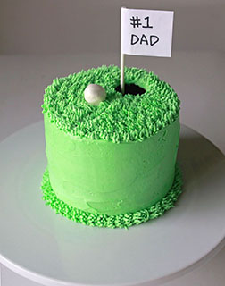 Hole In One Dad Cake