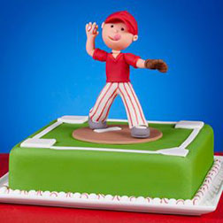 First Pitch Dad Cake