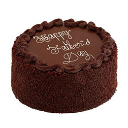 Signature Chocolate Father's Day Cake