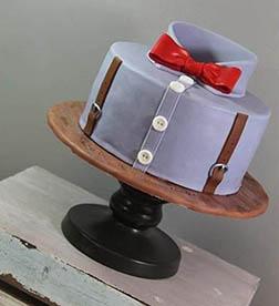 True Gentleman Cake
